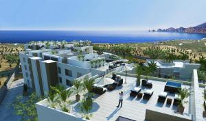 Cielo Building, Solaria Penthouse, Cabo Corridor,