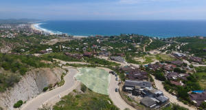 Panoramic Ocean View Lot with extreme privacy and wide buildable area