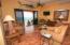 open floor plan in main home