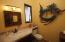 powder room off foyer