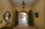 inside home looking through open front double doors