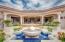 Upper patio fountain