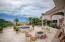Upper patio - note the sea of Cortez