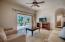 Guest suite living room
