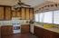 casita kitchen with views to the Sea of Cortez