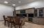 Bar in lower level living room