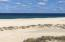 Wide white sandy beach
