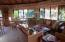 Large, open great room for entertaining and dining