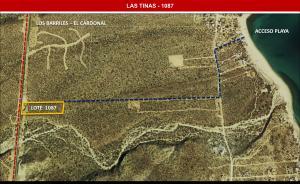 Las Tinas Lot 1087, East Cape,