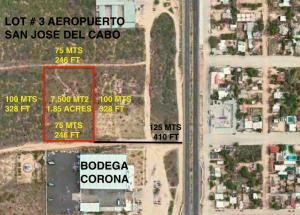 Lot # 3 Aeropuerto San Jose del Cabo