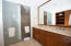 SEPARATE WALK IN SHOWER AND WATER CLOSET