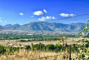Beautiful views of San Jose and Sierra de La Laguna mountains