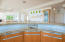 kitchen wet bar overlooking dining & living rooms