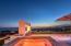 Casa Steuart sunset view across Jacuzzi