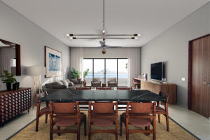 The Cape Residences are offered fully furnished with accessories and turnkey.
