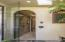 Master Bathroom outdoor/indoor shower entrance
