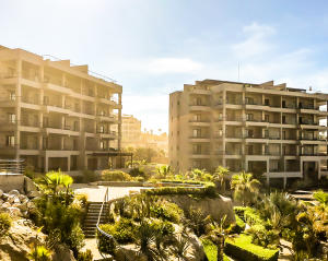 """The Cape Residences are a boutique collection of 34 full-ownership luxury condominiums at """"The Cape, a Thompson Hotel"""" perched high above the surf on Monuments Beach with stunning views of the iconic Cabo San Lucas Arch."""