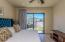 Master Bedroom #1 features Full Width Sliding Glass Doors for wonderful, Natural Light.