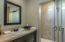 Guset Bathrom is 3 piece located conveniently to Guest Bedrooms.