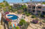 Well maintained Gardens and pool area