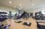 gym at club house
