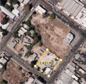 Ignacio Ramirez, Corner Lot Downtown La Paz, La Paz,