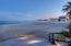 Night lights from Mykonos across the Sea of Cortez