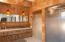 Custom finishes privacy doors,