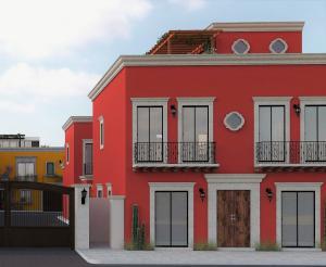 Vicente Guerrero, Casa Roja Privada de Montalvo, La Paz,