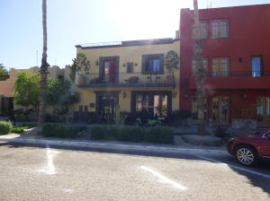 View of the home from the Paseo.