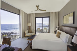 One of only two, two bedroom residences closest to the water with panoramic ocean views from the guest bedroom