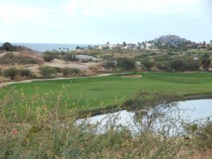 Beautiful views to the sea over looking the Golf hole #8