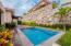Private swimming pool, mature landscaping and space for several lounge chairs