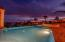 Sunset over the Sea of Cortez in Villa Teqila Gold