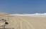 Beach on a big surf day.