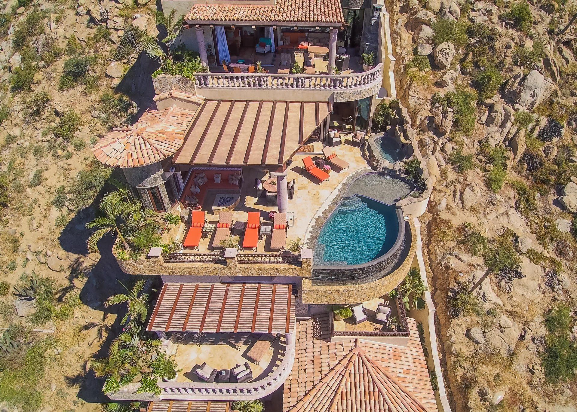 Cabo San Lucas, 5 Bedrooms Bedrooms, ,6 BathroomsBathrooms,House,For Sale,Camino del Sol,20-599