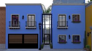 Vicente Guerrero, Casa Azul Privada Montalvo, La Paz,