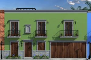 Vicente Guerrero, Casa Verde Privada de Montalvo, La Paz,