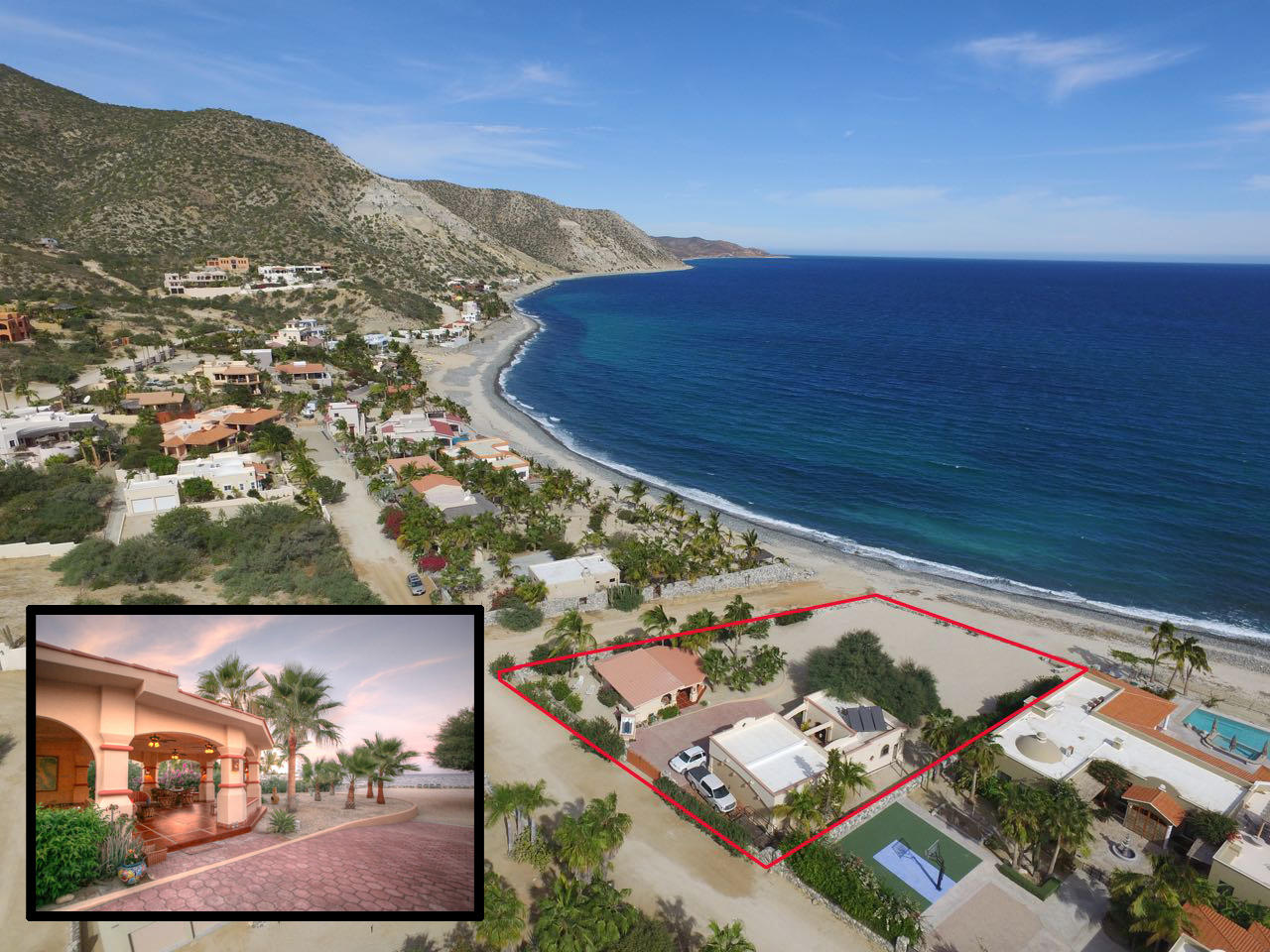 East Cape, 2 Bedrooms Bedrooms, ,2 BathroomsBathrooms,House,For Sale,Casa Costa Pedregal,20-872