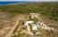 Aerial of property looking toward Pacific, a 15 minute walk through the huerta