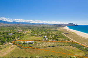 Two lots combined offer 4.4 acres of prime land with ocean views.