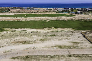 Costa Palmas Golf Lot 50 aerial with water view
