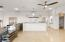 Great area for ping pong or billiards table, full service wet bar