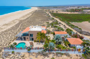 Miles of pristine beach make this a perfect beachfront home with lots of privacy.