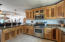 Chef's and entertainer's kitchen