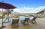 ocean views and sunbathing area