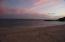 Sunset over Palmilla Sur Beach