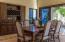 Indoor formal dining