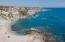 Cove beach drone