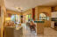 Living room & kitchen bar
